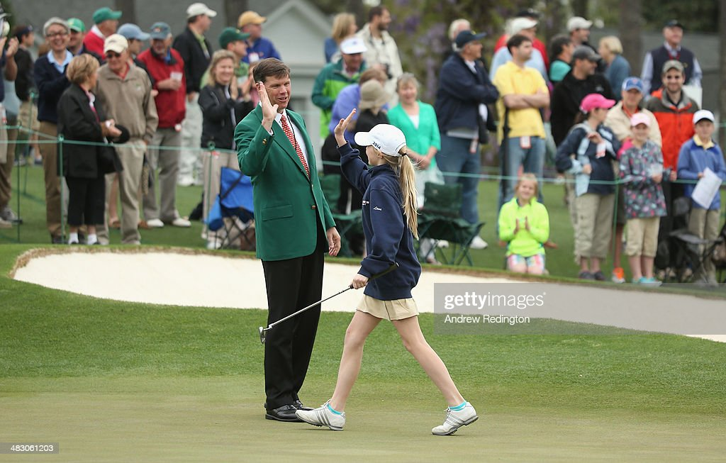 Drive, Chip and Putt Championship at Augusta National Golf Club : ニュース写真