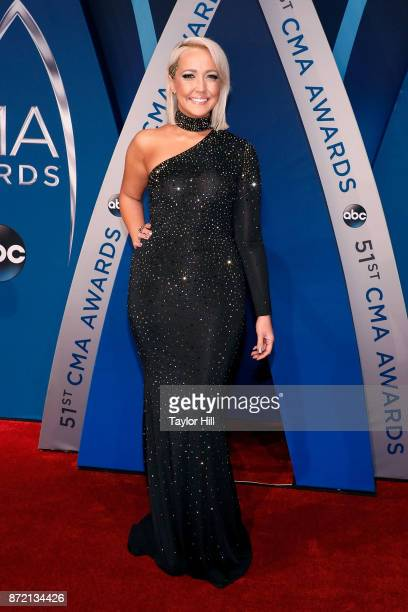Meghan Linsey attends the 51st annual CMA Awards at the Bridgestone Arena on November 8 2017 in Nashville Tennessee