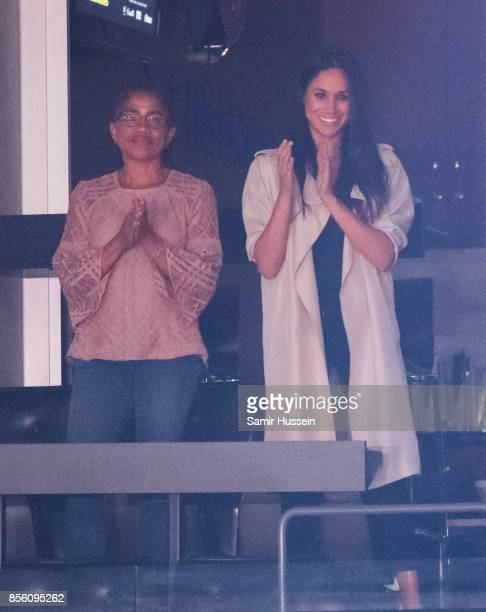 Meghan Markle and Doria Radlan attend the Closing Ceremony on day 8 of the Invictus Games Toronto 2017 on September 30 2017 in Toronto Canada The...