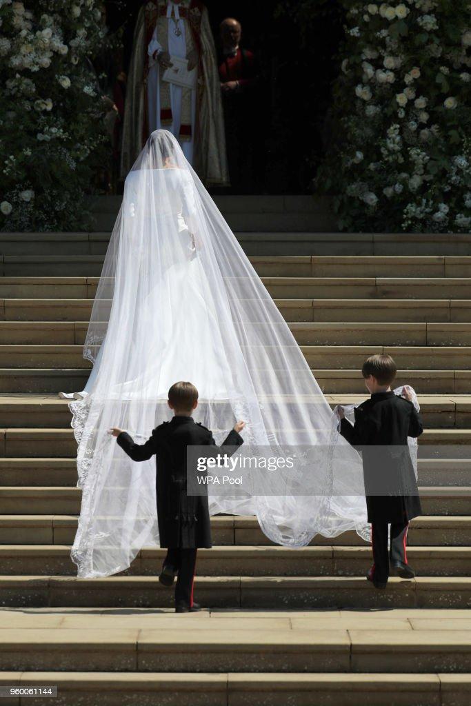 Prince Harry Marries Ms. Meghan Markle - Windsor Castle : News Photo