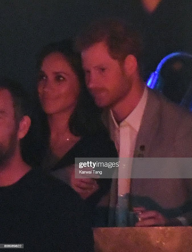 Meghan Markle and Prince Harry are seen on day 8 of the Invictus Games Toronto 2017 on September 30, 2017 in Toronto, Canada. The Games use the power of sport to inspire recovery, support rehabilitation and generate a wider understanding and respect for the Armed Forces.