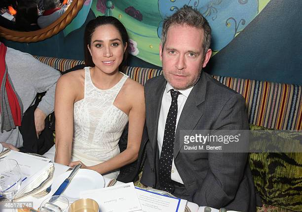 Meghan Markle and Tom Hollander attend the premiere of 'A Postcard From Istanbul' directed by John Malkovich in collaboration with St Regis Hotels...