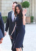berkshire england meghan markle arrives at