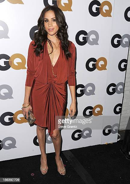 Meghan Markle arrives at the GQ Men Of The Year Party at Chateau Marmont on November 13 2012 in Los Angeles California