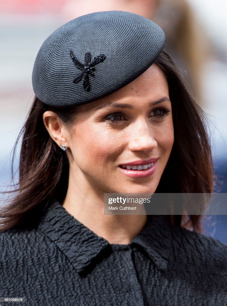 Meghan Markle attends an Anzac Day service at Westminster Abbey on April 25, 2018 in London, England.