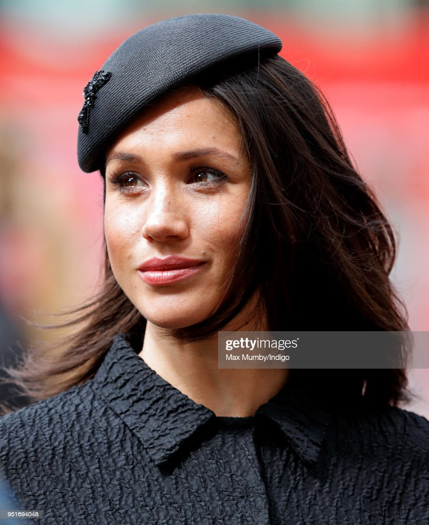 Meghan Markle attends an Anzac Day Service of Commemoration and Thanksgiving at Westminster Abbey on April 25, 2018 in London, England. Anzac Day commemorates members of the Australian and New Zealand Army Corps who died during the Gallipoli landings of 1915.
