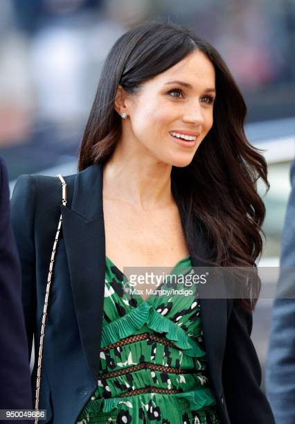 Meghan Markle attends an Invictus Games Reception at Australia House on April 21 2018 in London England