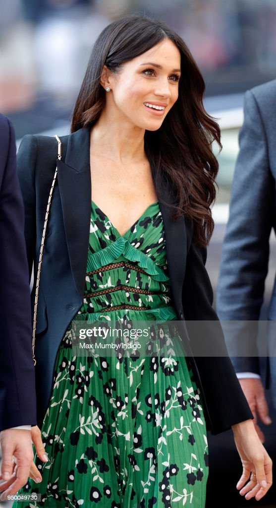Prince Harry And Ms. Meghan Markle Attend Invictus Games Reception : News Photo