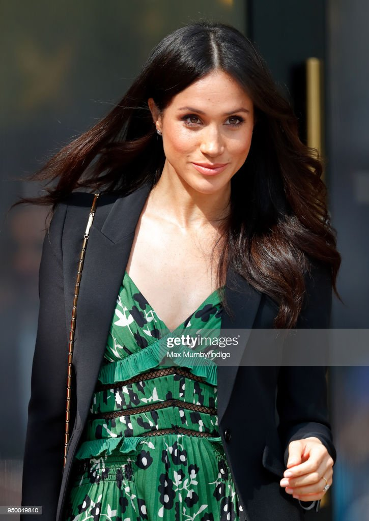 Meghan Markle attends an Invictus Games Reception at Australia House on April 21, 2018 in London, England.