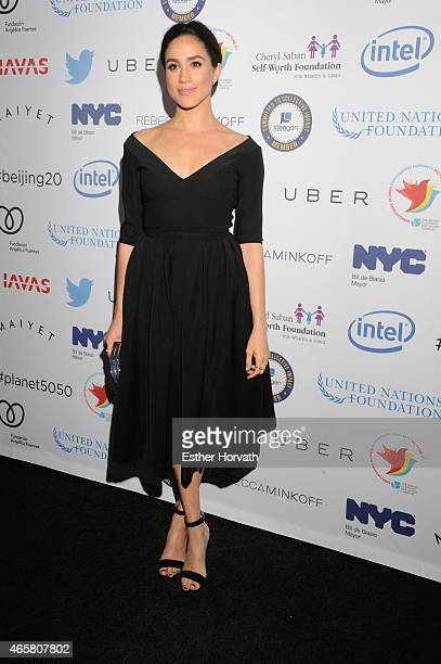 Meghan Markle attends Step It Up for Gender Equality Celebrates The 20th Anniversary Of The Fourth World Conference On Women In Beijing at...