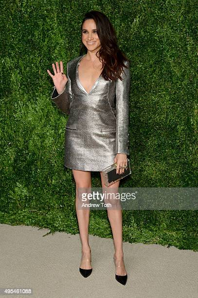 Meghan Markle attends the 12th annual CFDA/Vogue Fashion Fund Awards at Spring Studios on November 2, 2015 in New York City.