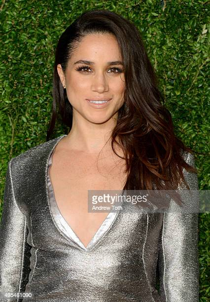 Meghan Markle attends the 12th annual CFDA/Vogue Fashion Fund Awards at Spring Studios on November 2 2015 in New York City