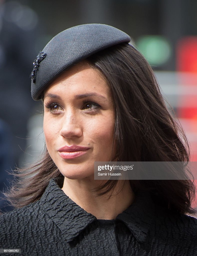Meghan Markle attends the Anzac Day service at Westminster Abbey on April 25, 2018 in London, England.