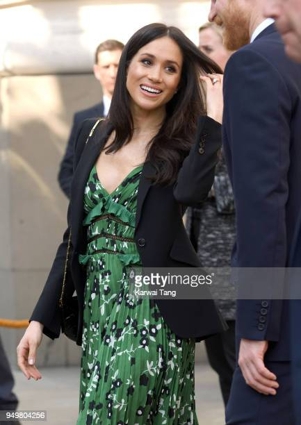 Meghan Markle attends the Invictus Games Reception at Australia House on April 21 2018 in London England