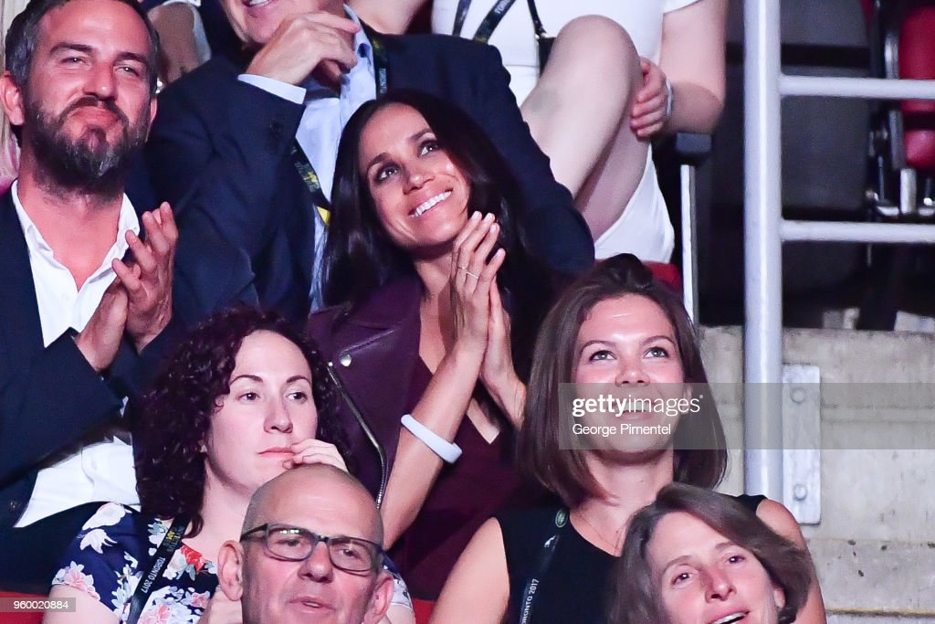 Meghan Markle attends the opening ceremony of Invictus Games Toronto 2017 at Air Canada Centre on September 23, 2017 in Toronto, Canada.