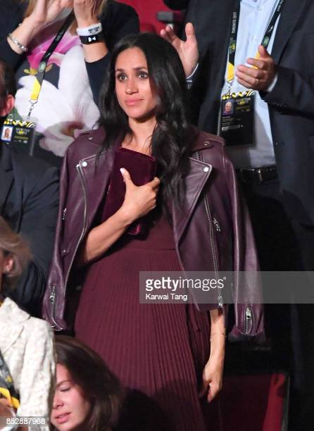 Meghan Markle attends the Opening Ceremony of the Invictus Games Toronto 2017 at the Air Canada Arena on September 23, 2017 in Toronto, Canada. The...