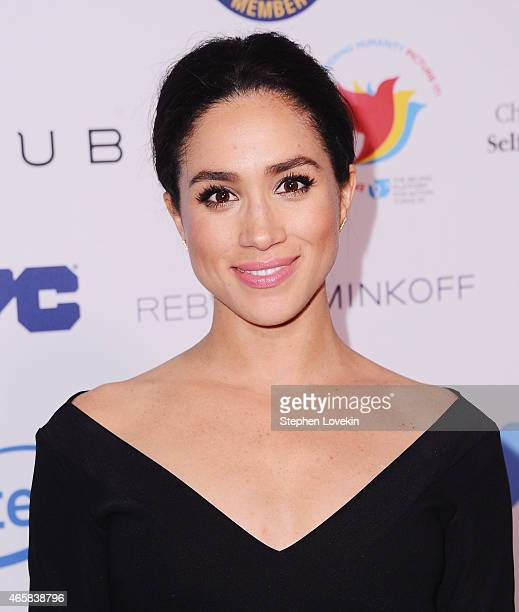 Meghan Markle attends the Step It Up For Gender Equality event celebrating the 20th anniversary of the fourth World Conference On Women in Beijing at...