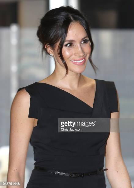 Meghan Markle attends the Women's Empowerment reception hosted by Foreign Secretary Boris Johnson during the Commonwealth Heads of Government Meeting...