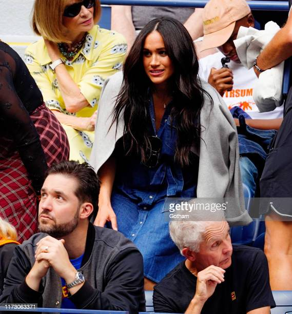 Meghan Markle Duchess of Sussex attends the 2019 US Open Women's final on September 07 2019 in New York City