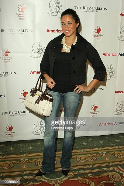 Meghan Markle during George Lopez/Great Chefs of LA Event For The National Kidney Foundation at The RitzCarlton Marina del Rey in Marina del Rey...