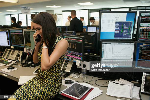 Meghan Markle fundraises at the Annual Charity Day Hosted By Cantor Fitzgerald And BGC at the Cantor Fitzgerald Office on September 11 2013 in New...