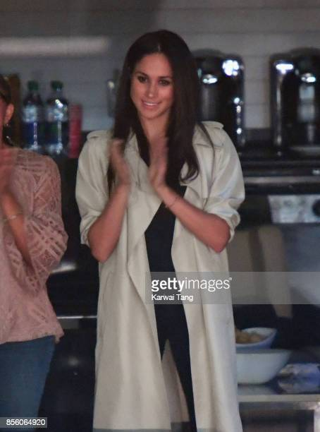 Meghan Markle is seen on day 8 of the Invictus Games Toronto 2017 on September 30 2017 in Toronto Canada The Games use the power of sport to inspire...