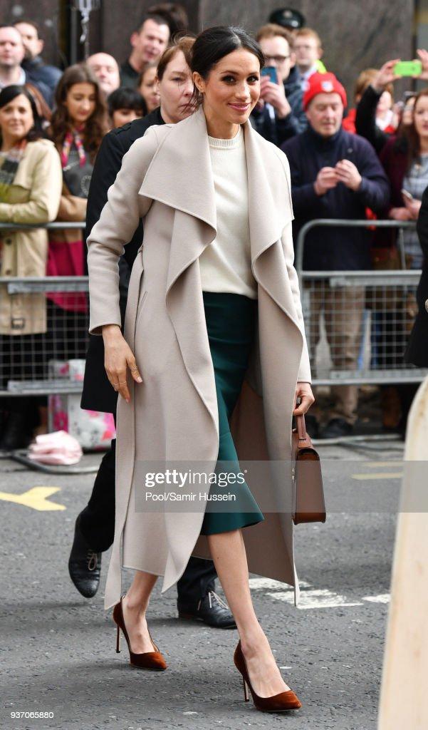 Prince Harry And Meghan Markle Visit Northern Ireland : News Photo
