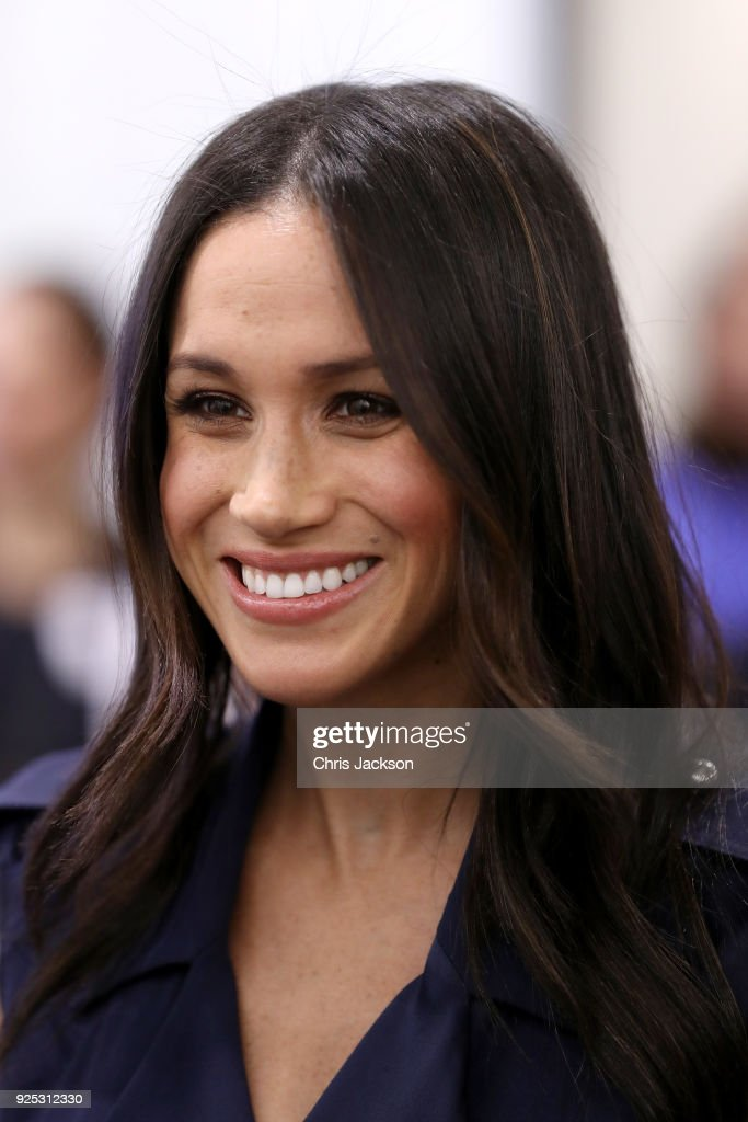 Meghan Markle meets panelists and beneficiaries as she attends the first annual Royal Foundation Forum held at Aviva on February 28, 2018 in London, England. Under the theme 'Making a Difference Together', the event will showcase the programmes run or initiated by The Royal Foundation.