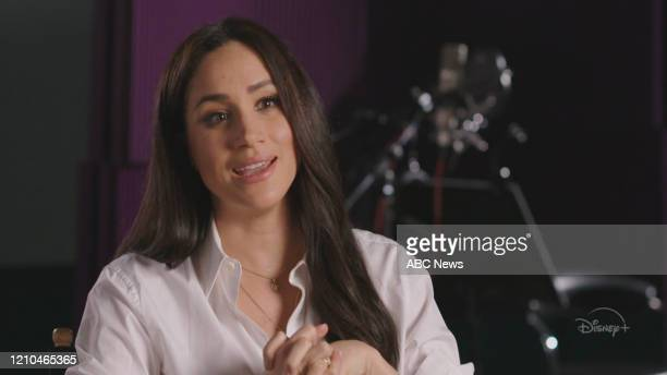 AMERICA 42020 Meghan Markle on Good Morning America FRAMEGRAB MEGHAN