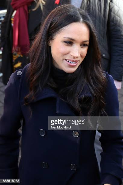 Meghan Markle visit Nottingham Contemporary on December 1 2017 in Nottingham England Prince Harry and Meghan Markle announced their engagement on...