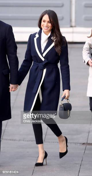 Meghan Markle visits Birmingham on March 8 2018 in Birmingham England