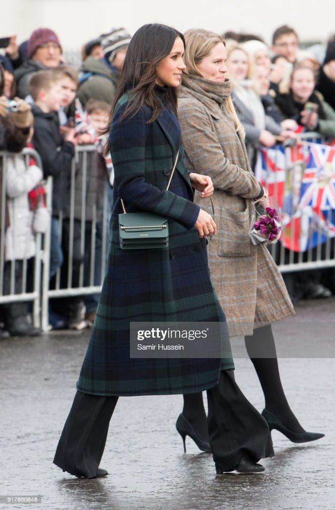 Prince Harry And Meghan Markle Visit Edinburgh : ニュース写真