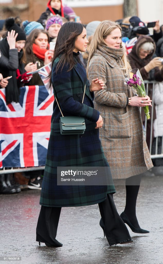 Prince Harry And Meghan Markle Visit Edinburgh : ニュース写真