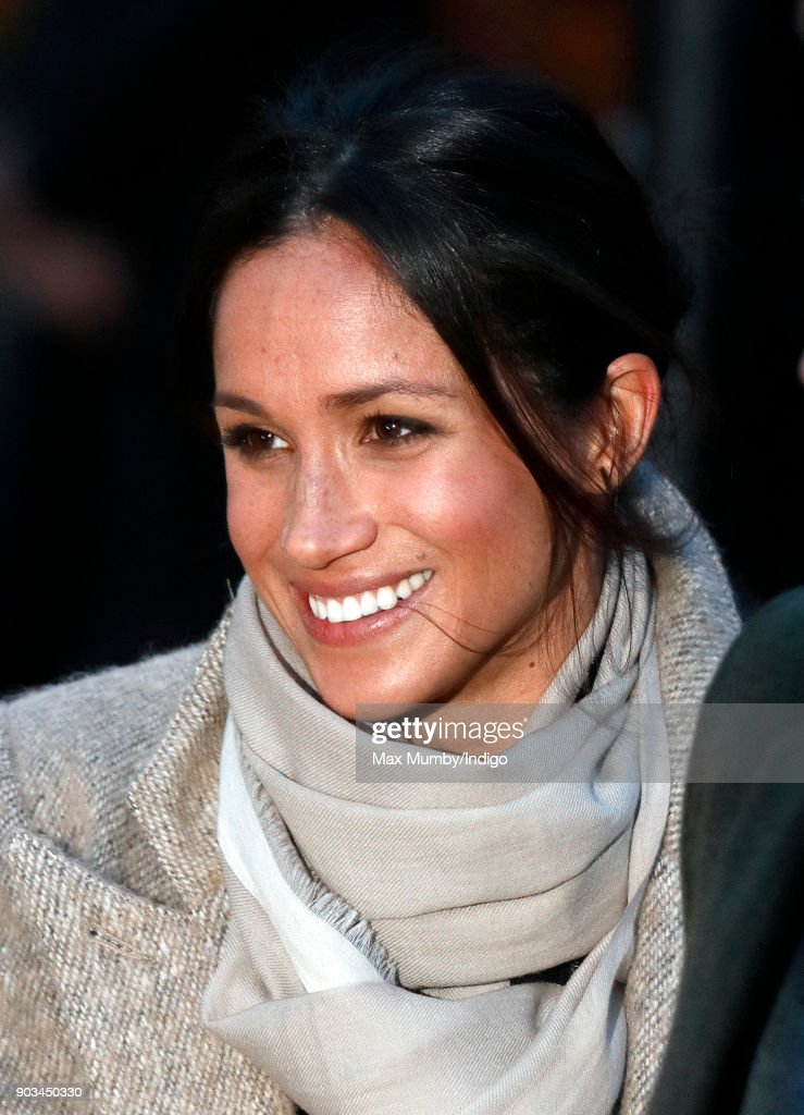 Meghan Markle visits Reprezent 107.3FM on January 9, 2018 in London, England. The Reprezent training programme was established in Peckham in 2008, in response to the alarming rise in knife crime, to help young people develop and socialise through radio.