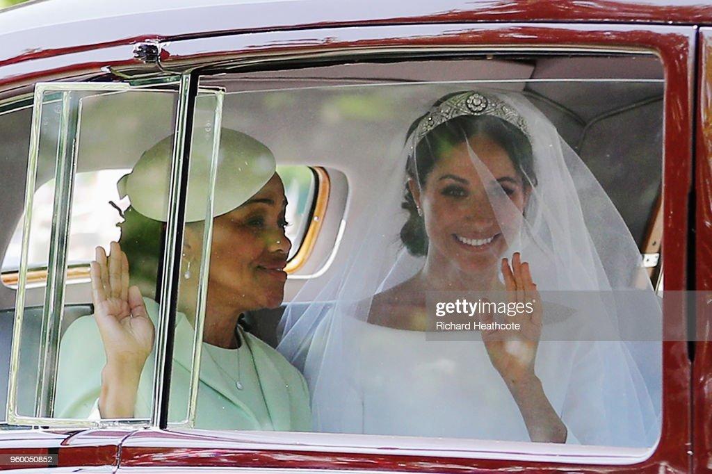 Prince Harry Marries Ms. Meghan Markle - Atmosphere : Nachrichtenfoto