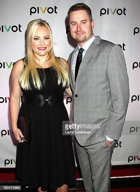 Meghan McCain and Jimmy McCain attend Raising McCain Series New York Premiere at Tribeca Cinemas on September 12 2013 in New York City