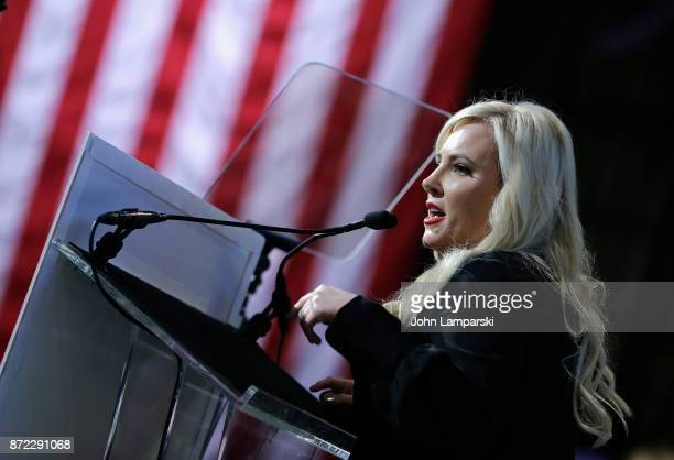 Meghan McCain attends 11th Annual IAVA Heroes Gala at Cipriani 42nd Street on November 9 2017 in New York City