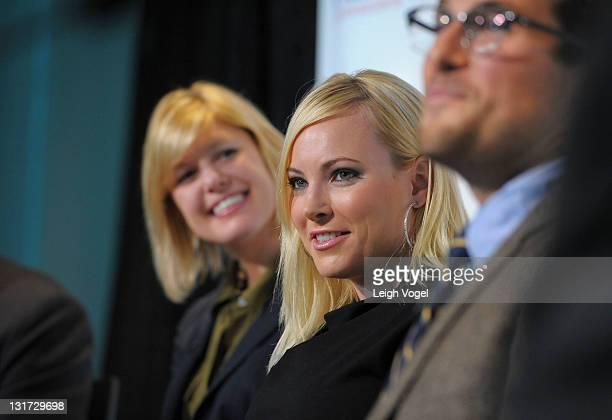 Meghan McCain author and Advisory Board Member of Why Tuesday speaks during 'Creating the Voting Rights Act Of 2012' Panel Discussion at The Newseum...