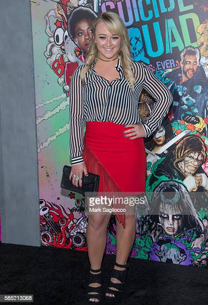 Meghan McCarthy attends the 'Suicide Squad' World Premiere at The Beacon Theatre on August 1 2016 in New York City