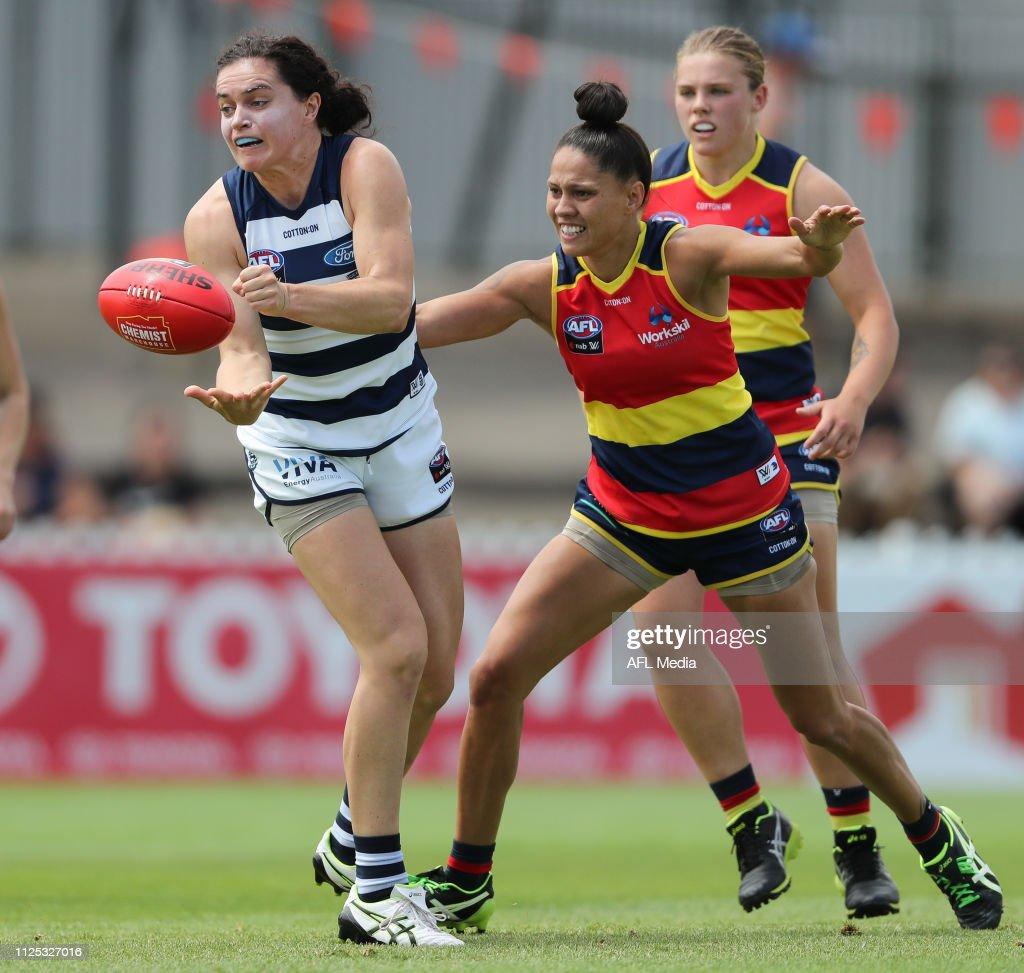 AUS: AFLW Rd 3 - Adelaide v Geelong