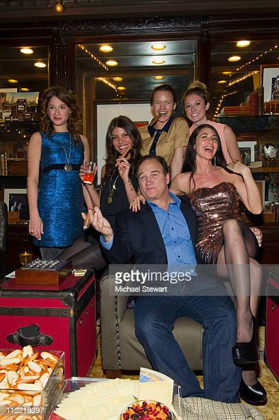 Meghan Miller of Bambi Killers, Dawn Dunning of Bambi Killers, actor James Belushi, actress Tanya Fischer, Ashley Stanton and Lynne Volk attend the...
