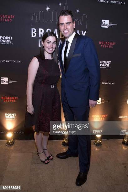 Meghan Murphy and Ryan Stana attend the 10th Annual Broadway Dreams Supper at The Plaza Hotel on December 12 2017 in New York City