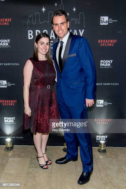 Meghan Murphy and Ryan Stana attend the10th Annual Broadway Dreams Supper at The Plaza Hotel on December 12 2017 in New York City