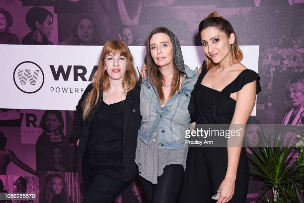 Meghan Quinn Georgina Cates and Corina Marie Howell attend TheWrap's Power Women Summit at InterContinental Los Angeles Downtown on November 1 2018...