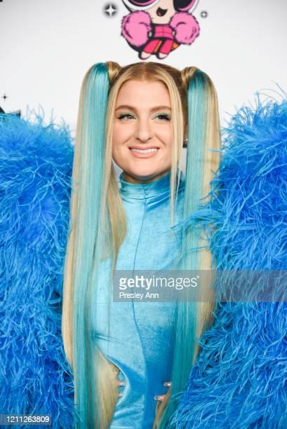 Meghan Trainor attends Christian Cowan x Powerpuff Girls Runway Show on March 08, 2020 in Hollywood, California.