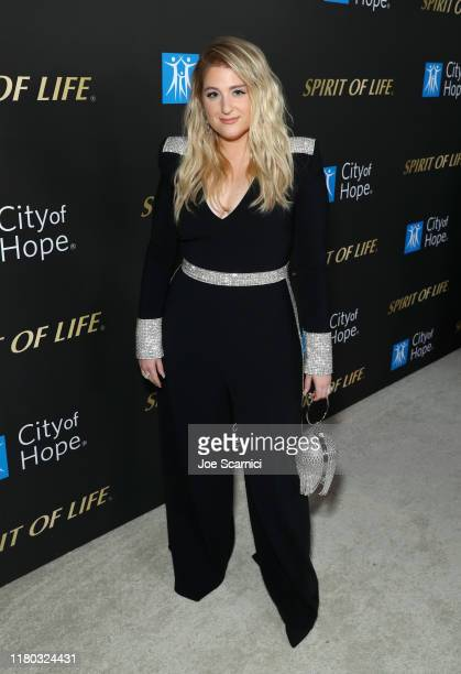 Meghan Trainor attends City Of Hope Spirit Of Life Gala 2019 on October 10 2019 in Santa Monica California