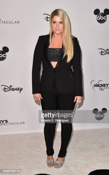 Meghan Trainor attends Mickey's 90th Spectacular at The Shrine Auditorium on October 6 2018 in Los Angeles California