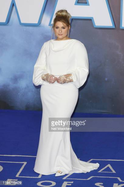 Meghan Trainor attends Star Wars The Rise of Skywalker European Premiere at Cineworld Leicester Square on December 18 2019 in London England