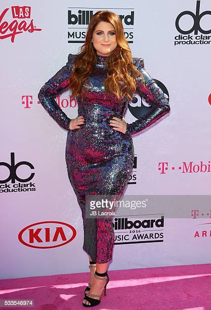 Meghan Trainor attends the 2016 Billboard Music Awards at TMobile Arena on May 22 2016 in Las Vegas Nevada