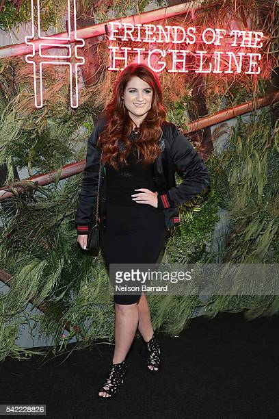 Meghan Trainor attends the '2016 Coach And Friends Of The High Line Summer Party' at The High Line on June 22 2016 in New York City